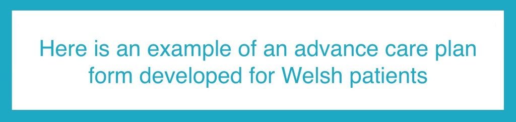Click here to see an example of an advance care plan